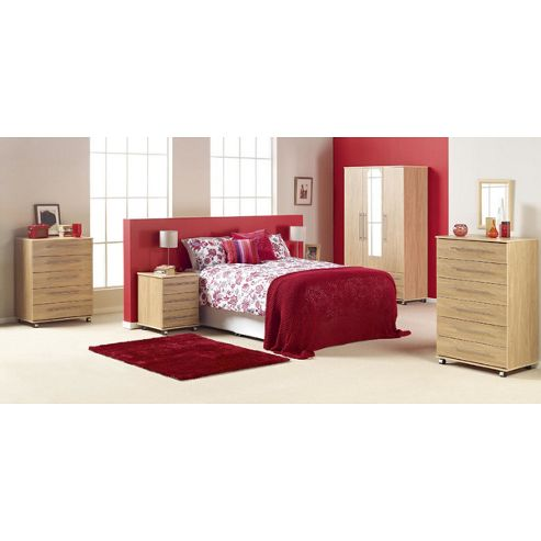 Ideal Furniture Bobby 4 Door Wardrobe - Beech