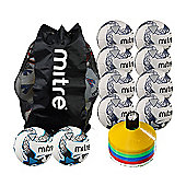 Mitre Premier Football Pack Size 4