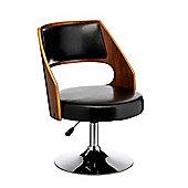 Premier Housewares Leather Bar Chair