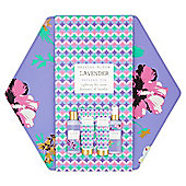 British Bloom Lavender Bathing Tin