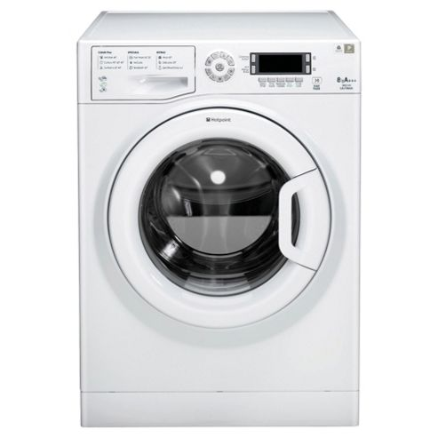 Hotpoint WMUD843P Washing Machine , 8Kg Load, 1400 RPM Spin, White