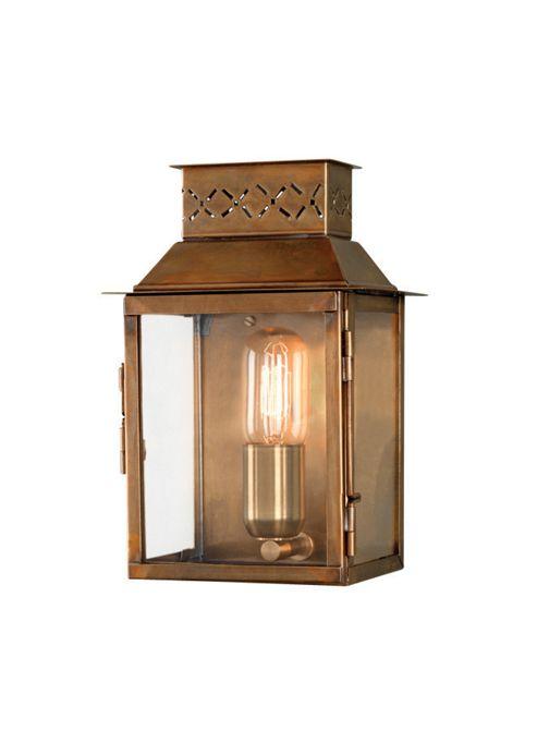 Elstead Lighting Lambeth Palace 1 Light Outdoor Wall Lantern - Solid Brass