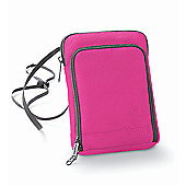 Bagbase Polyester Travel Wallet Smartphone Compatible Purple