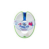 Pourty Flexi-Fit Toilet Trainer, Green