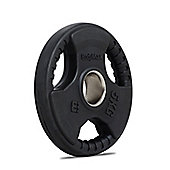 Bodymax Olympic Rubber Radial Weight Disc Plate - 5kg
