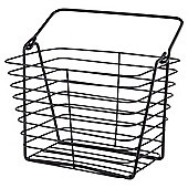 Tesco Black Wire Storage Basket