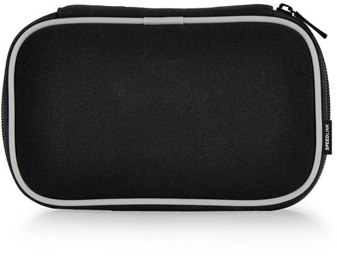 SPEEDLINK NEO Premium Bag 3DS, NDS Lite, NDSi, Black-Grey SL-5322-BKG