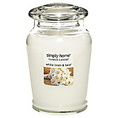 Yankee Candle Jar White Linen & Lace, Medium