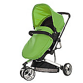 Obaby Chase 3 Wheeler Pramette Travel System, Black & Lime