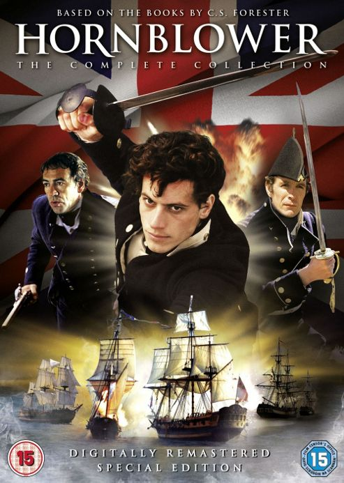 Hornblower - Complete Collection  (DVD Boxset)