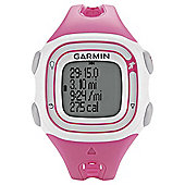 Garmin Forerunner 10 GPS Watch, Pink