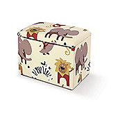 Just 4 Kidz Kids Toy Box - Roar Natural