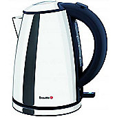 Breville VKJ472 Polished Compact Jug Kettle - Stainless Steel