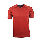Mountain Warehouse District Mens Technical T-Shirt - Orange