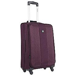 Revelation by Antler Cuba 4-Wheel Medium Purple Suitcase
