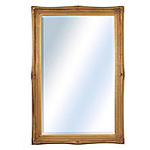 Large Gold Ornate Antique Shabby Chic Wall Mirror 5Ft9 X 3Ft9, 175Cm X 114Cm