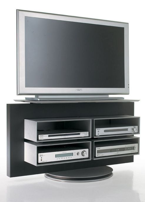 Luke Furniture TV Stand - High Gloss White