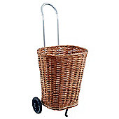 Willow Shopping Trolley with Chrome Handle