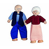 Plan Toys Grandfather Figure ,wooden toy