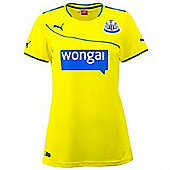 2013-14 Newcastle 3rd Ladies Shirt - Yellow