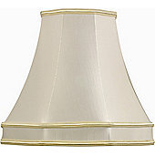 The Lighting & Interiors Group Lined Octagonal Shade in Cream - 36cm