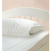 Gro To Bed Spare Bottom Sheet - Cot Bed - White