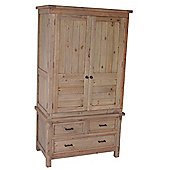 Wiseaction Naples 3 Drawer 2 Door Wardrobe
