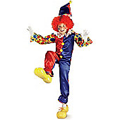 Fancy Dress - Childrens Bubbles the Clown - Large (each)
