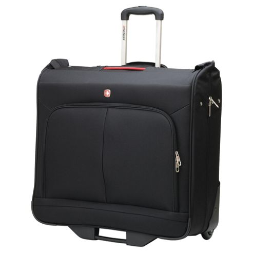 Wenger 2-Wheel Garment Carrier Suitcase, Black