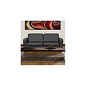 Ideal Furniture Box 3 Seater Sofa - Black