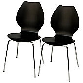 Candy Pair Of Chairs White / Black