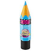 T. Go Create 24 Coloured Pencils In Giant Pencil