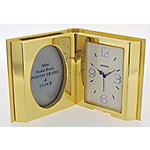 Imperial Clocks Open Book Clock - Gold