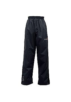Regatta Kids Chandler Waterproof Overtrousers - Black