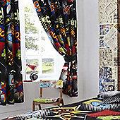 Comic Curtains 72s - Multi