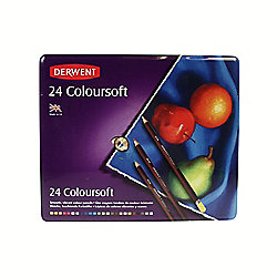 Derwent Coloursoft 24 Tin
