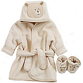 Natures Purest Hug Me Bathrobe & Slippers