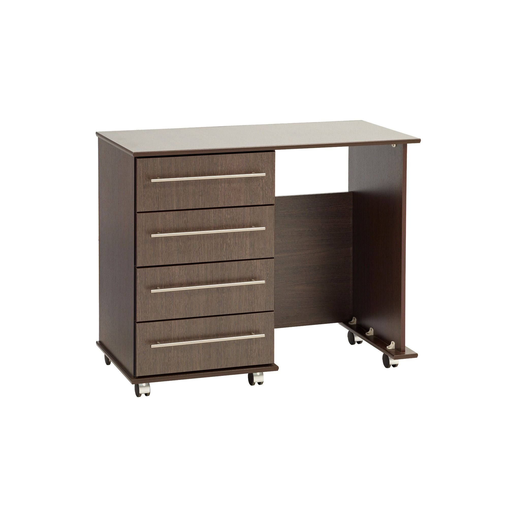 Ideal Furniture New York Single Dressing Table - Beech at Tesco Direct