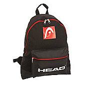 Head Adult Urban Medium/Small Backpack Black/Red Adjustable Straps