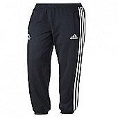 2013-14 Real Madrid Adidas Sweat Pants (Black) - Black