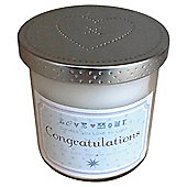 Congratulations Candle