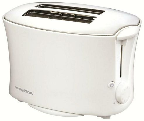 Morphy Richards 77-768 Pf 2-Slice Essential Toaster - White