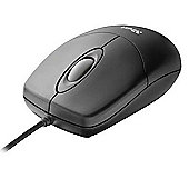 Trust Optical Wired USB Mouse - Black