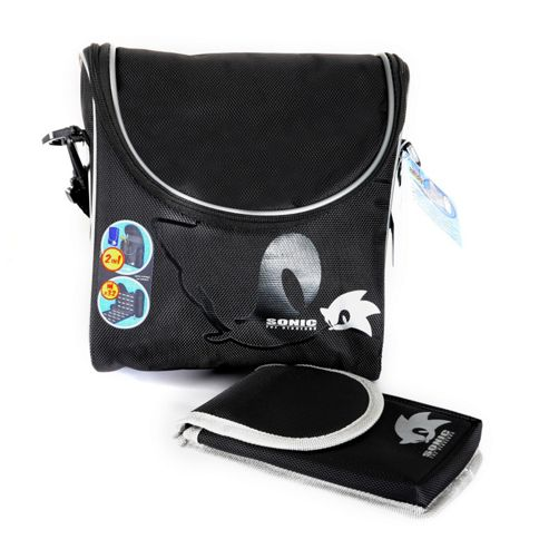 SONIC GAMER CASE (BLACK)