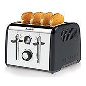 Breville VTT717 Aurora 4 Slice Toaster, Black