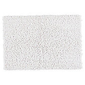 Tesco Chenille Bath Mat White