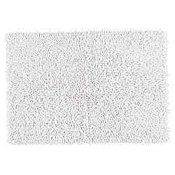 Tesco Chenille Bath Mat, White