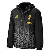 2013-14 Liverpool Warrior Padded Jacket (Black) - Black
