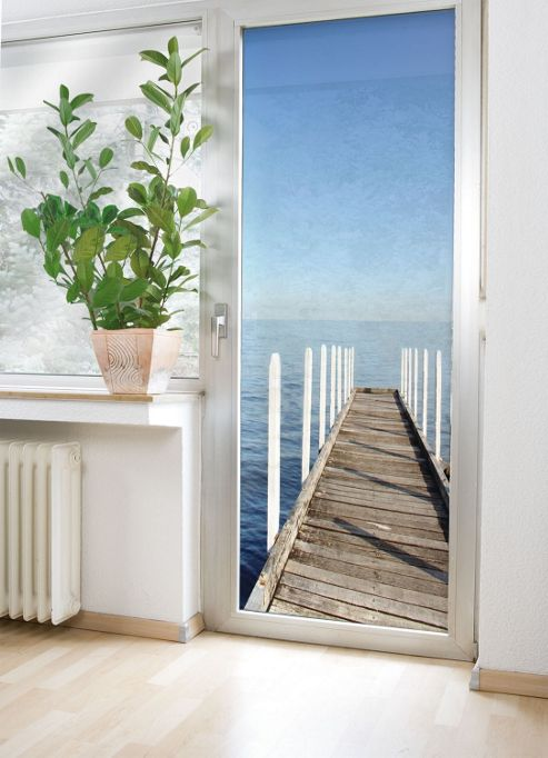 Wenko Sea View Door Mural