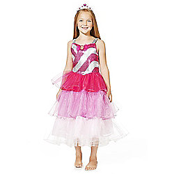 Barbie Princess Dress-Up Costume years 05 - 06 Pink